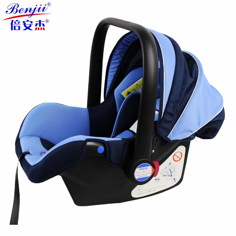 asiento de coche infantil de seguridad del portador con la