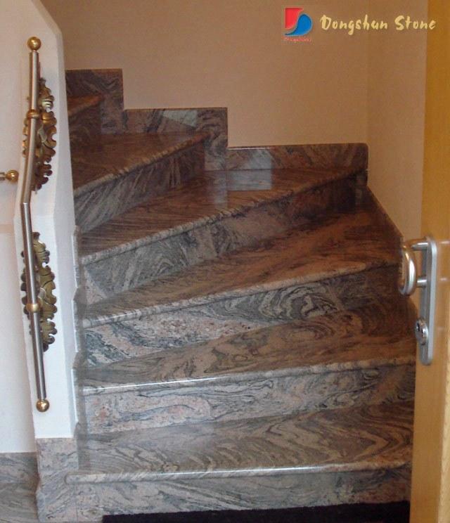 Escalera de piedra granito m rmol escalera de piedra - Escalones de piedra ...