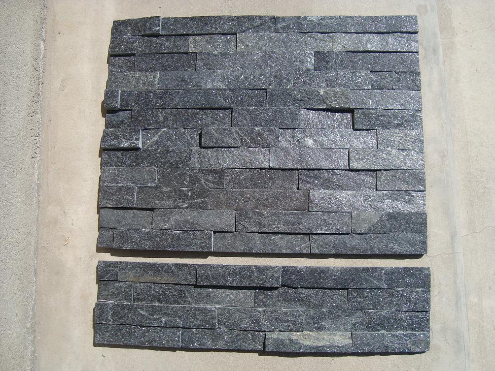 Pietra nera della coltura della quarzite, pietra naturale della coltura – Pietra nera della ...