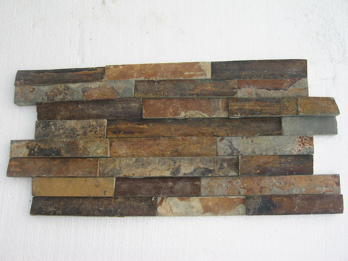 Piedra oxidada de la pizarra piedra natural de la cultura - Piedra de pizarra ...