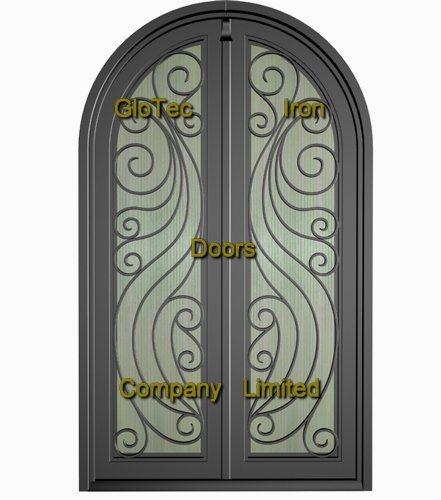 Porte de fer travaill gt new015 porte de fer travaill for Jambage de porte