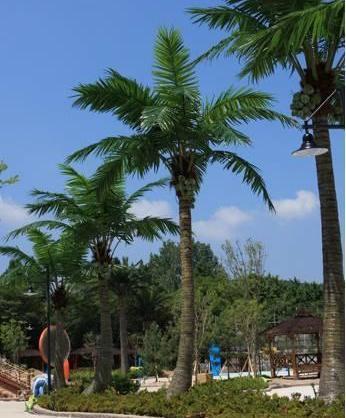 Palmeras artificiales de los cocos palmeras artificiales for Palmeras artificiales