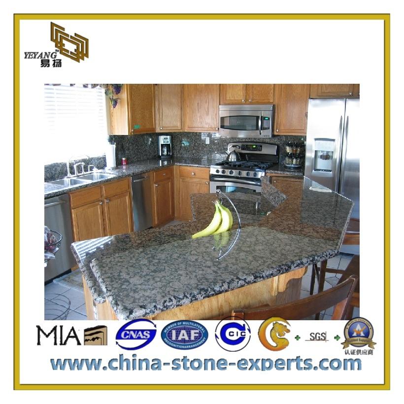 Piedra natural blue pearl granito para cocina yqc for Piedra de granito para cocina precios