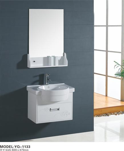 meubles fix s au mur de salle de bains de pvc yq 1133 meubles fix s au mur de salle de bains. Black Bedroom Furniture Sets. Home Design Ideas