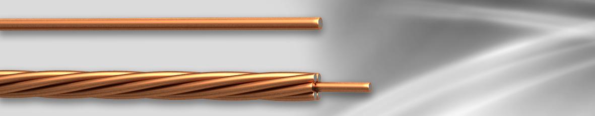 Foto de alambre de acero recubierto de cobre y ccs cable for Cable de acero precio