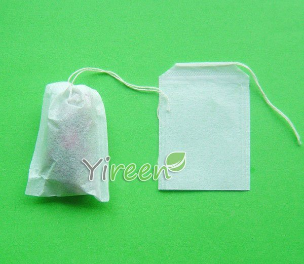 Sachet th vide de cordon simple de 50 x de 70mm - Sachet de the vide ...