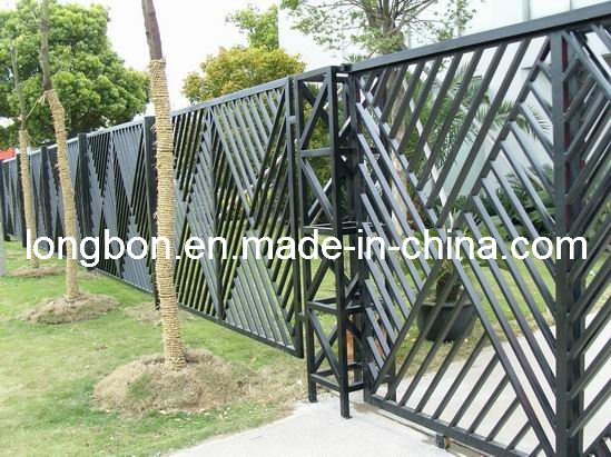 cerca de jardim ferro : cerca de jardim ferro:Modern Wrought Iron Fence Designs
