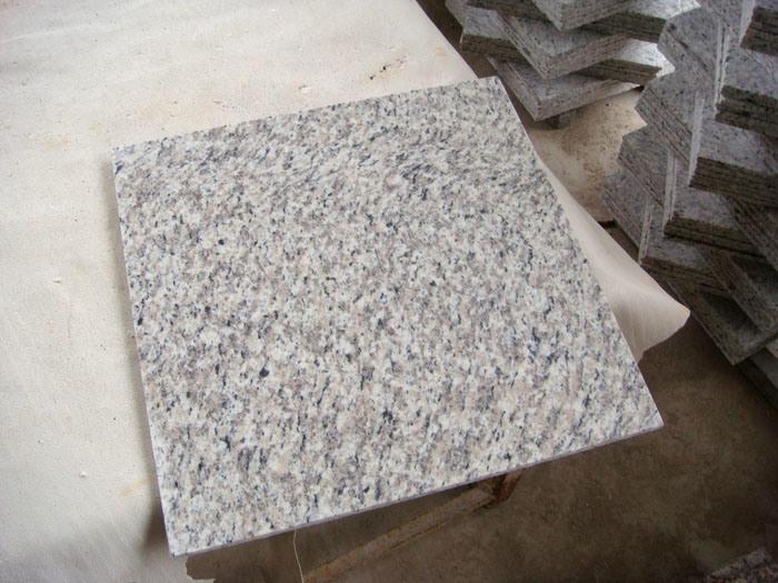Azulejo blanco del granito de la piel del tigre azulejo for Granito blanco chino