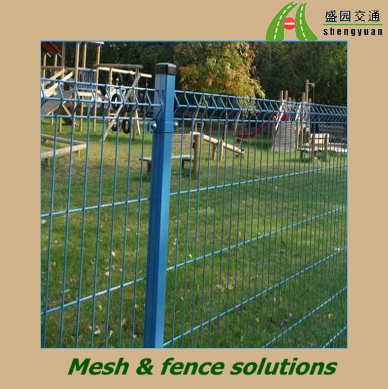 cerca para jardim alta : cerca para jardim alta:Cerca revestida plástica do jardim do engranzamento soldado –Cerca