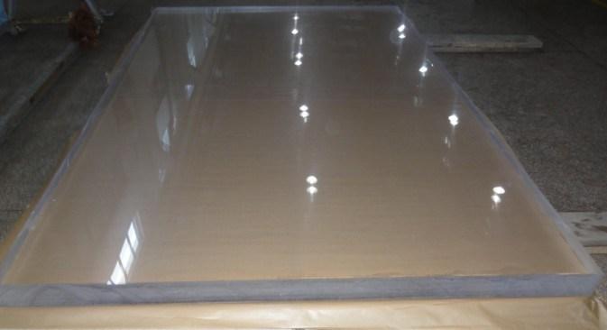 Hoja de pmma tablero transparente de acr lico hoja de pmma tablero transparente de acr lico - Vidrio plastico transparente precio ...
