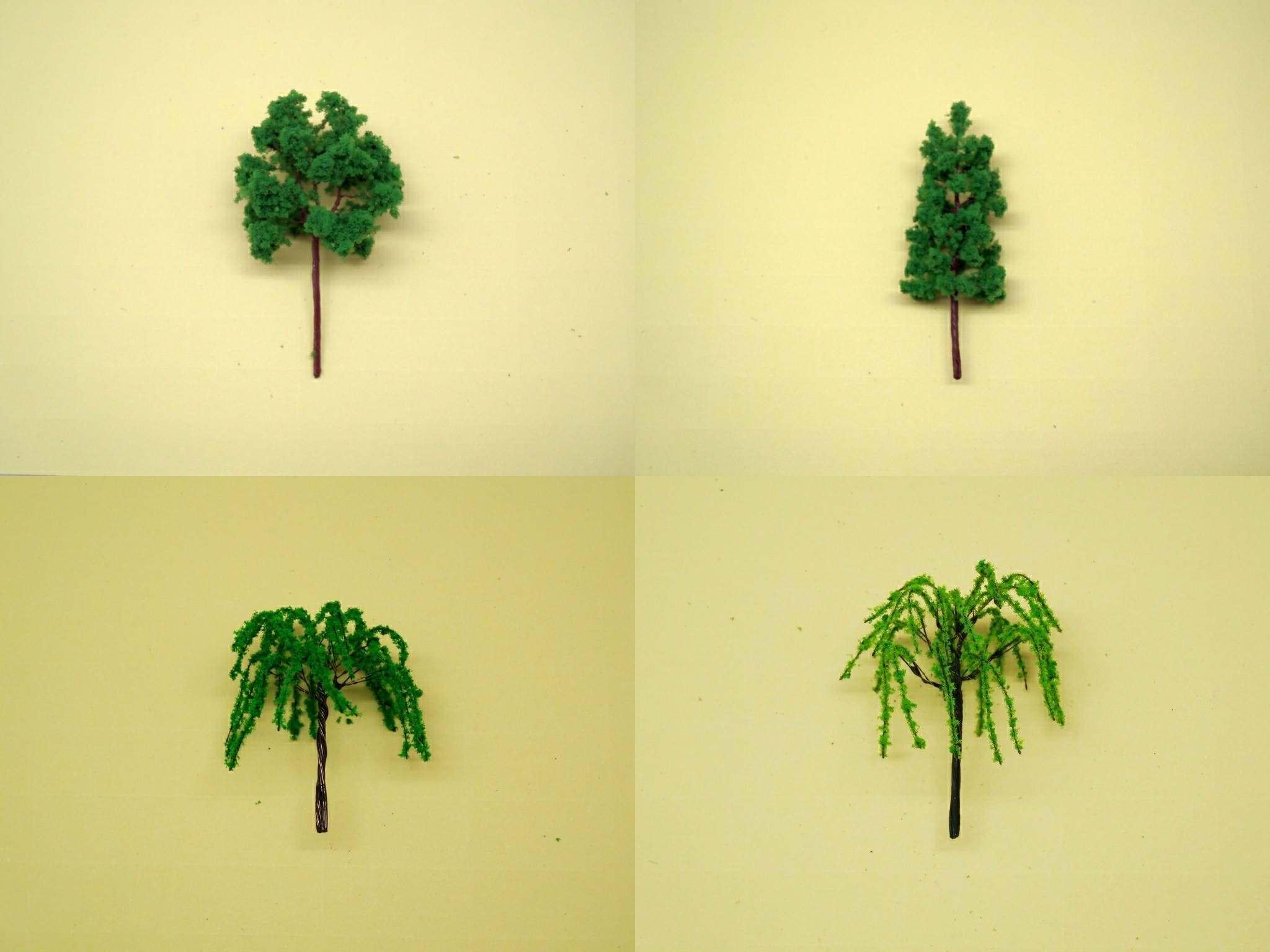 Сделать дерево своими руками для макета