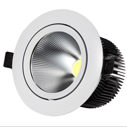 35 inch cob 9w 900lm led downlights tiltable fixture recessed ceiling down lights warm/cool/natural white 4500k