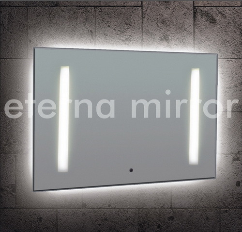 le miroir de led backit a illumin le miroir miroir allum de salle de bains le miroir de led. Black Bedroom Furniture Sets. Home Design Ideas