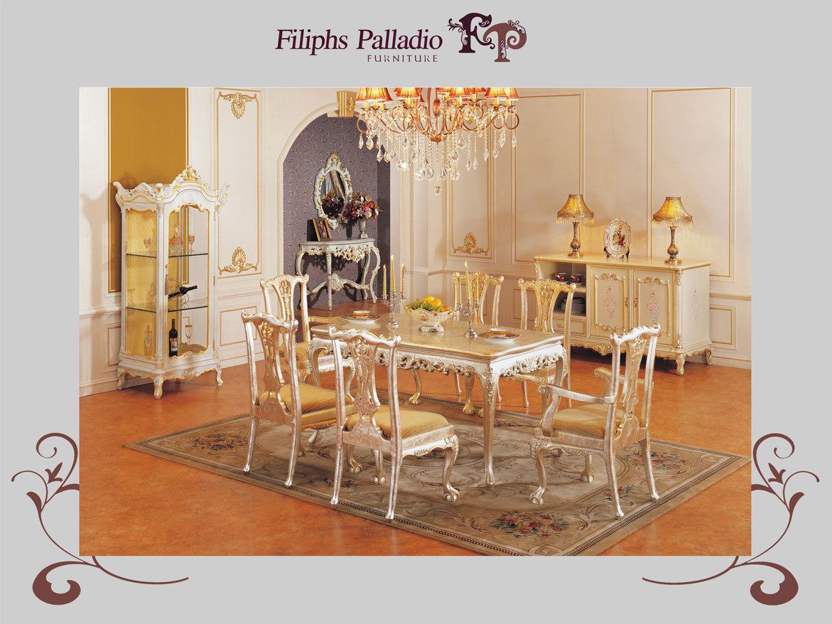 Muebles franceses de lujo de la sala de estar acabados en for Muebles franceses