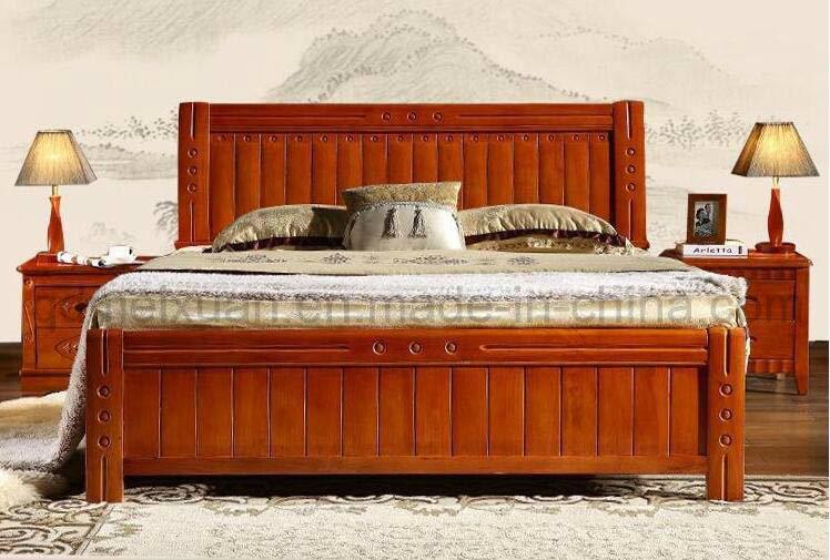 Foto de camas de madera s lida dise o moderno cama de - Camas diseno moderno ...