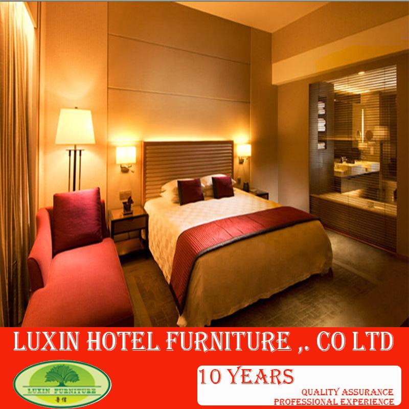 Meubles en bois modernes chinois de chambre coucher d for Chambre a coucher hotel