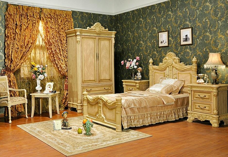 Meubles europ ens d 39 ensemble de chambre coucher d for Ensemble meuble chambre