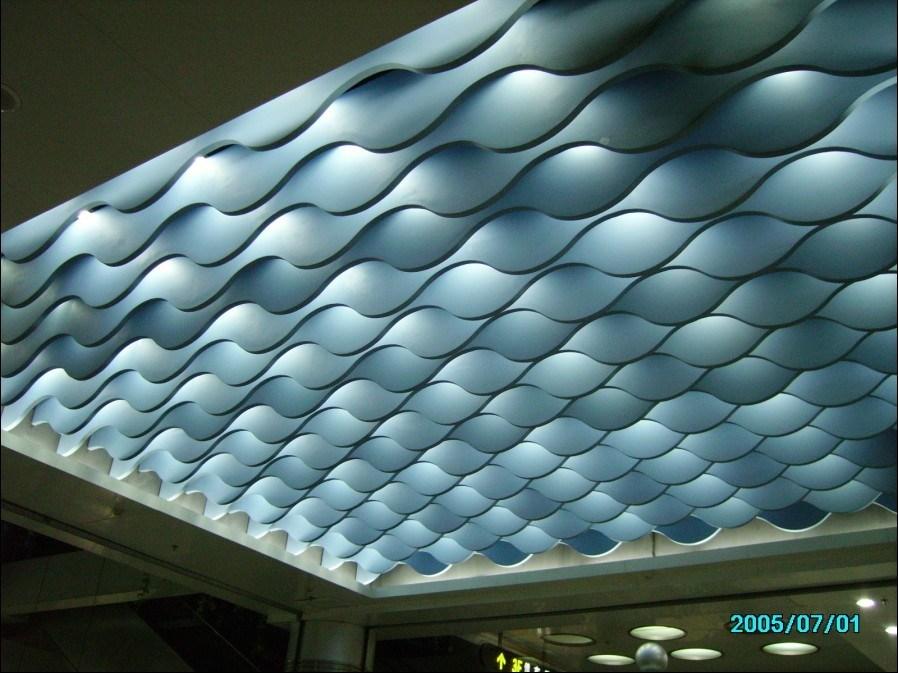 알루미늄에 의하여 물결치는 천장 디자인에사진 kr.Made-in-China.com