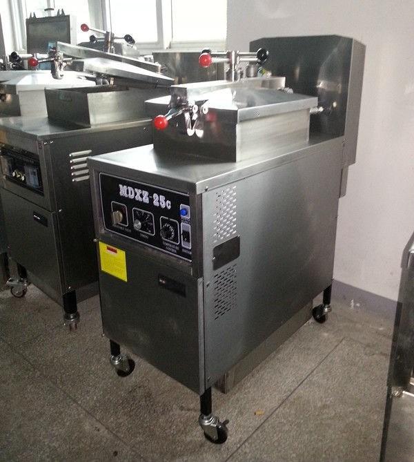 Freidoras fritadora de presi n de gas mdxz 25c panel for Freidoras a gas medellin