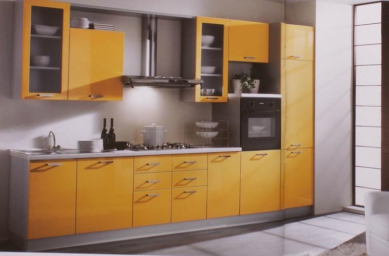 Gabinete de cocina de la melamina augus gabinete de for Gabinetes de cocina en melamina