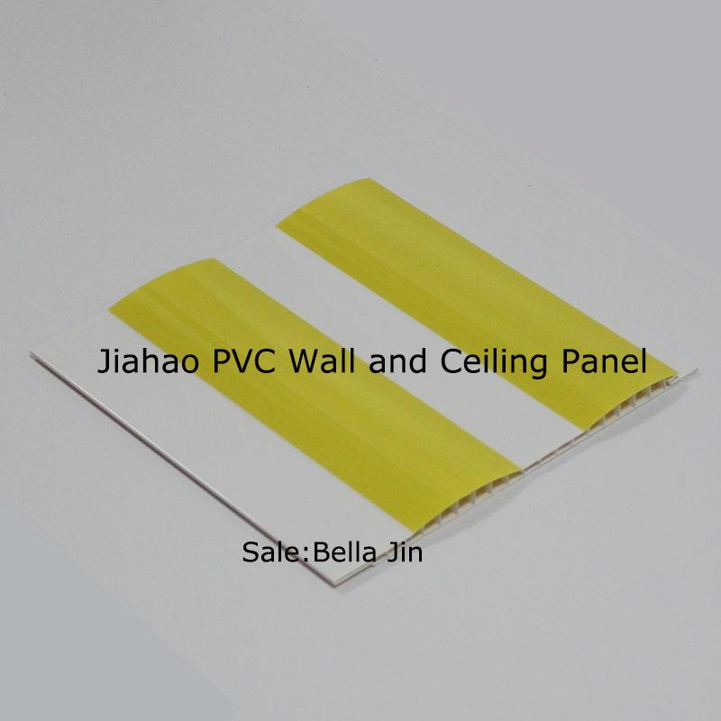 Los paneles decorativos de la pared del pvc de la onda for Paneles decorativos de pvc
