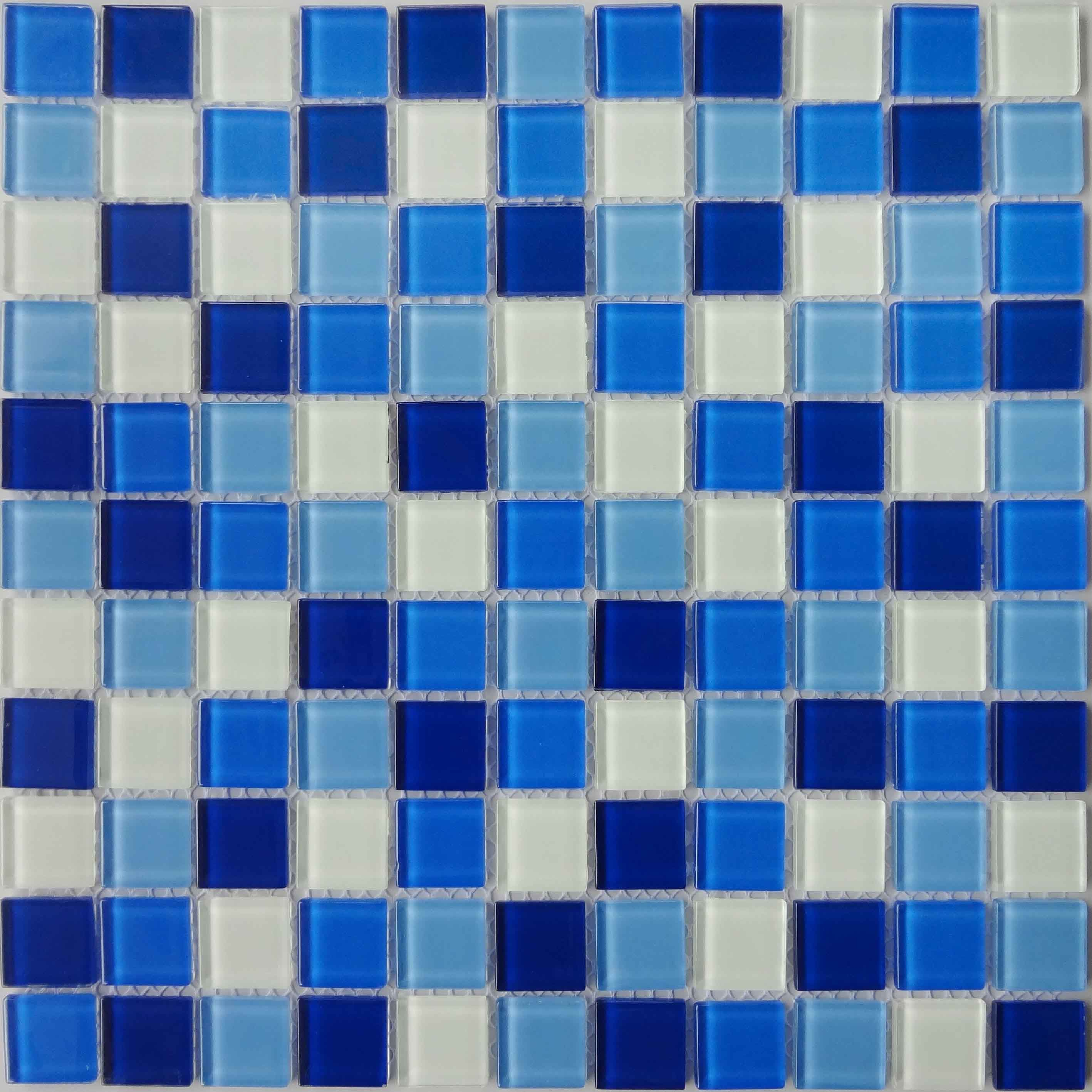 Azulejos Baño Mosaico:Swimming Pool Glass Mosaic Tiles