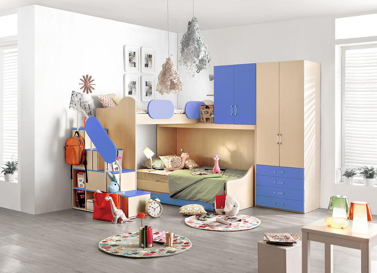 De stapelbedden van kinderen de stapelbedden van kinderendooryours furniture manufactory - Nachtkastje voor loftbed ...