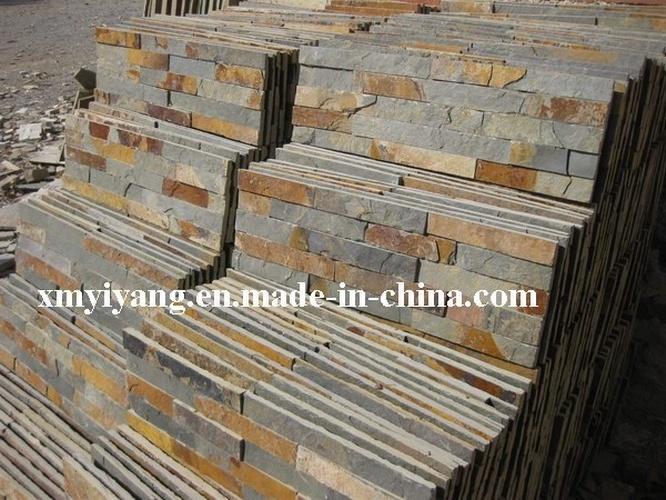 Piedra oxidada de la pizarra natural de la pizarra piedra - Piedra pizarra oxidada ...