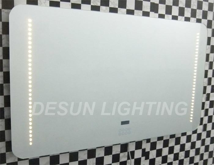 Miroir de bath avec la radio dmi3223 miroir de bath - Miroir avec lumiere integree ...