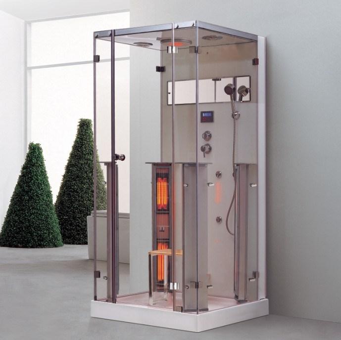 douche vapeur de bains avec sauna infrarouge de k066. Black Bedroom Furniture Sets. Home Design Ideas