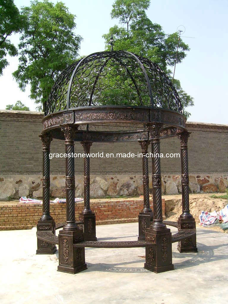 Gazebo del ghisa gazebo del ferro saldato gazebo gs crg for Arredamento made in china