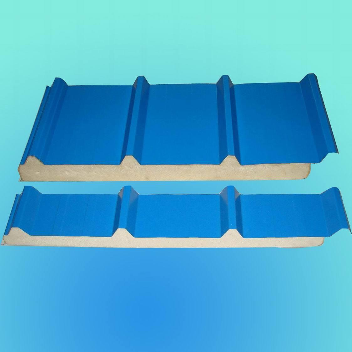 Painel do telhado do sanduíche do plutônio –Painel do telhado do  #034D8D 1123x1123
