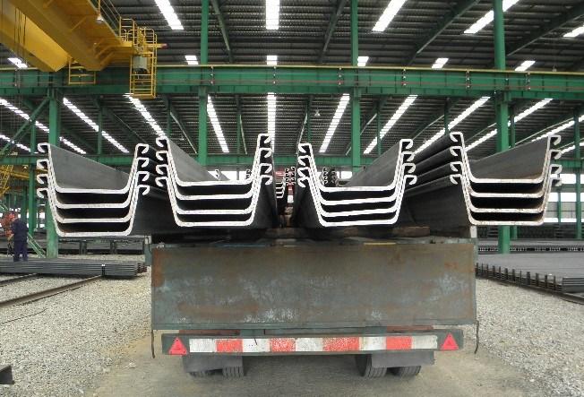 Gb standard u shaped steel sheet pile