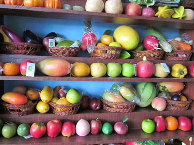 Frutas y veh culos artificiales 1 frutas y veh culos - Frutas artificiales para decoracion ...