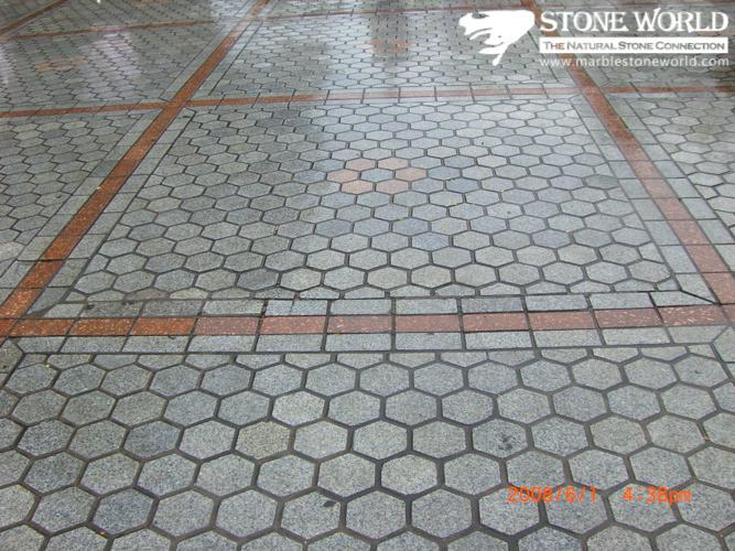 Foto de newstar granito de bloqueo de piedra adoqu n for Baldosas de piedra para exterior