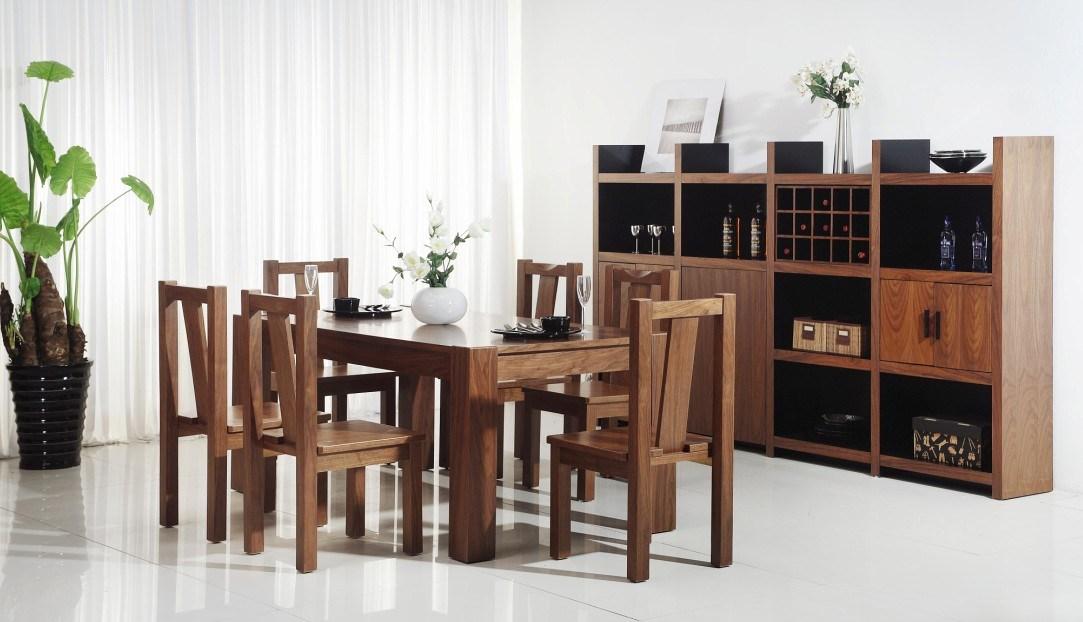Muebles modernos del comedor fijados set4 muebles for Muebles compactos comedor
