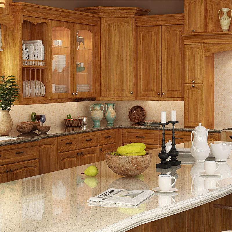 Mueble de cocina de madera affordable muebles de cocina for Muebles de cocina de madera maciza catalogo