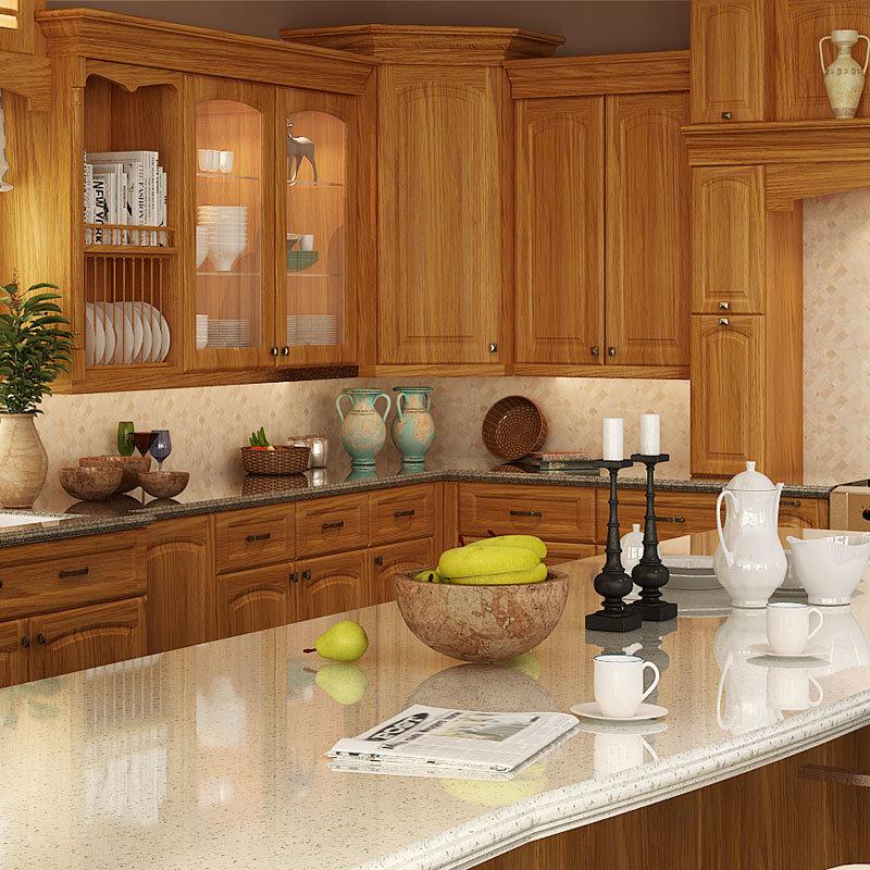 Mueble de cocina de madera fabulous muebles de cocina en for Muebles de cocina clasicos