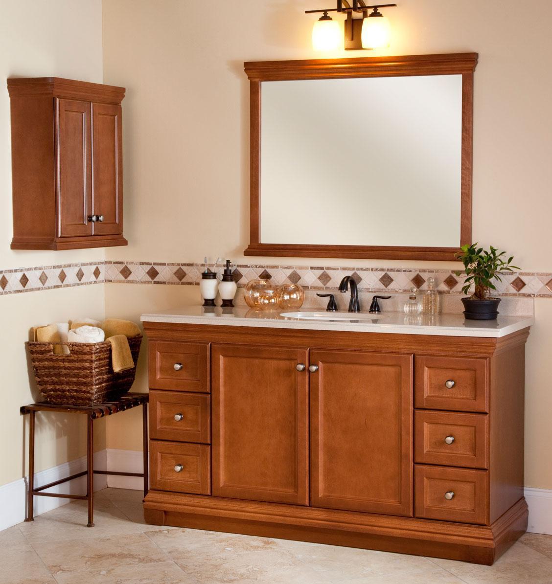Muebles cl sicos de madera anchos gb1023 del cuarto de ba o 60 muebles cl sicos de madera - Muebles cuarto bano ...