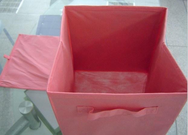 Cajas de almacenaje cubiertas de tela no tejidas plegables for Cajas almacenaje ropa