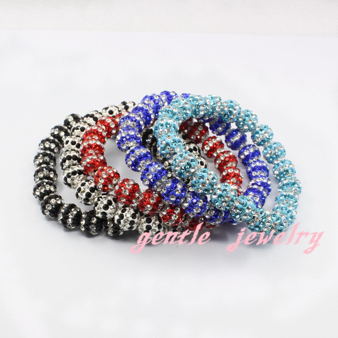 bracelet de shamballa de bijoux de mode avec la corde. Black Bedroom Furniture Sets. Home Design Ideas