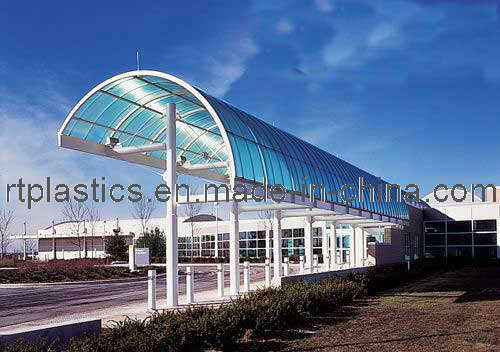 Hoja del material para techos del policarbonato hoja del - Precio del policarbonato ...