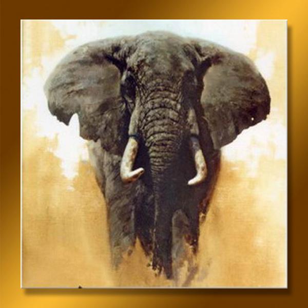Moderno óleo animal Pintura Decoración – Moderno óleo animal ...