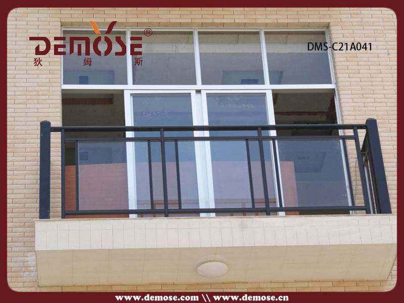 disegno Railing veranda : Disegno-di-vetro-di-alluminio-dell-inferriata-del-.jpg