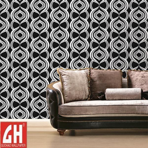 Papier peint d coratif moderne de relief lourd du papier for Papier peint relief 3d
