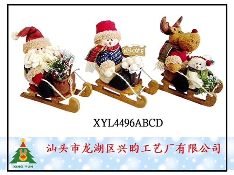 Los ornamentos del trineo de la navidad xyl4496abc los - Ornamentos de navidad ...