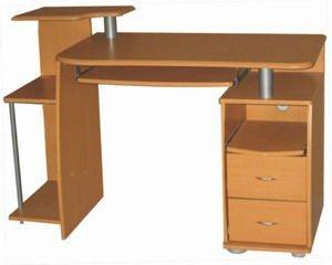 Muebles de madera de madera del escritorio del ordenador for Muebles para computador