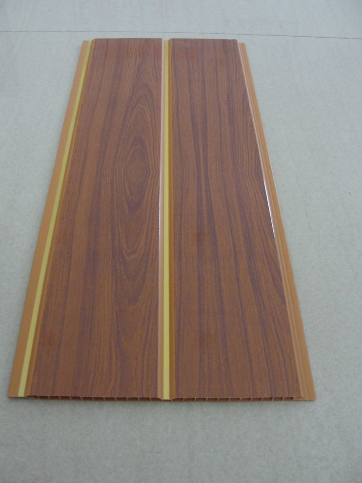 Revestimiento de madera interior del pvc del dise o nuevo - Revestimientos madera para paredes interiores ...