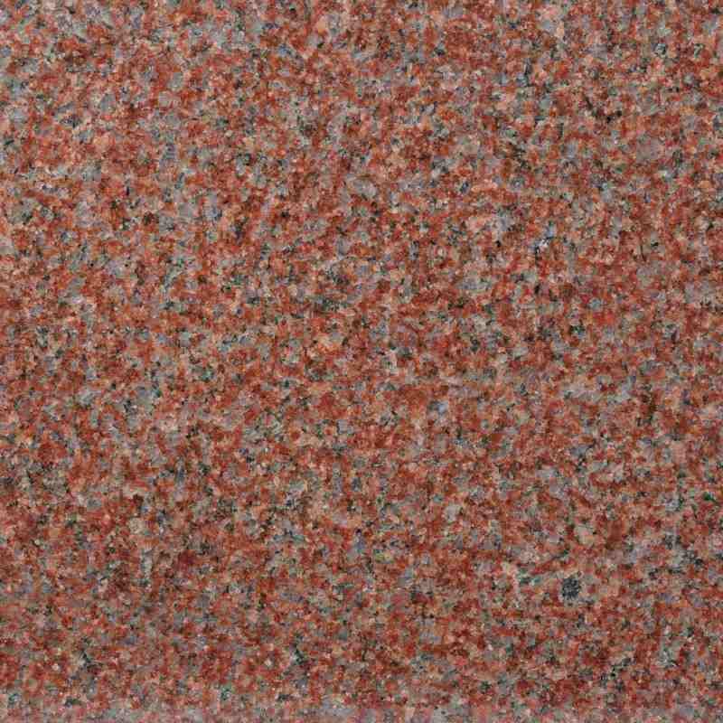 Azulejo De Piso Rojo De La India Del Granito Azulejo De