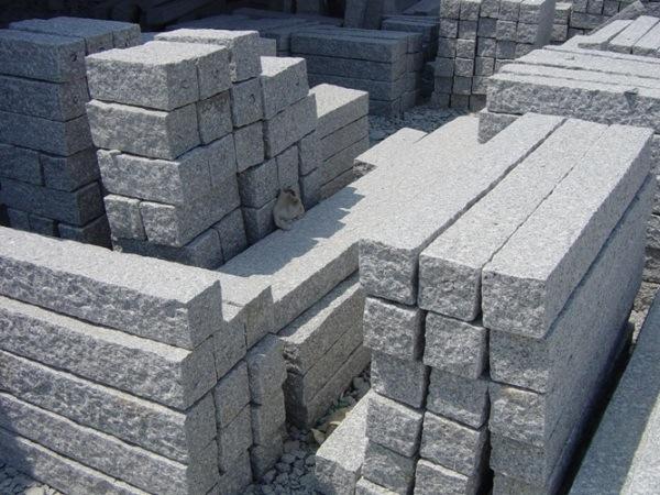 pi rre de parement chinoise de granit machines paver grises de granit palissade pi rre de. Black Bedroom Furniture Sets. Home Design Ideas
